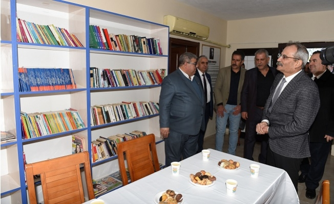 Tarsus'ta Belediye tarafından Uğur Mumcu anısına okuma salonu açıldı