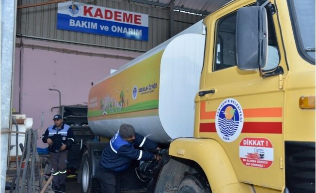 Yenişehir Belediyesi Araç Bakım ve Onarım İle Tasarruf Sağladı