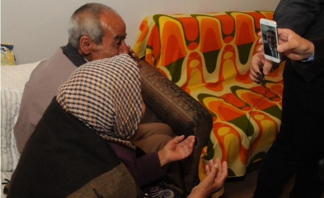 74 Yaşındaki Felçli Münevver Azbay ve Kardeşi Geçici Evlerine Yerleştirildi.