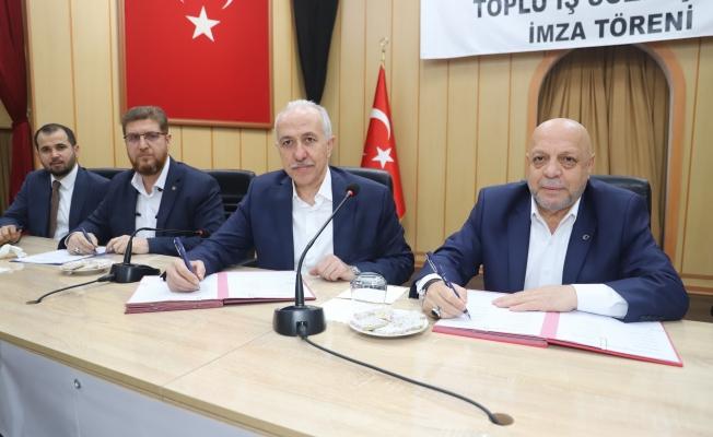 Akdeniz Belediyesi Toplu İş Sözleşmesi İmza Töreni Yapıldı