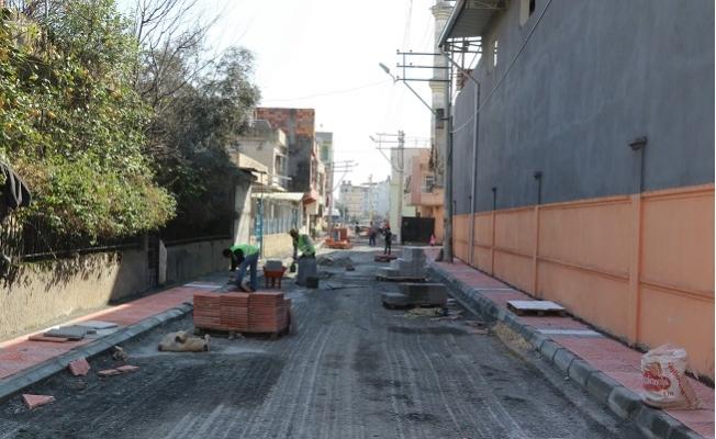 Akdeniz'de Gündoğdu'nun Sokakları Yenileniyor