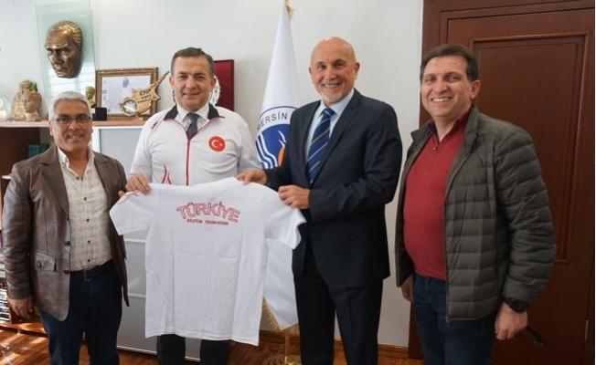 Atletizm Federasyonundan Başkan Özyiğit'e Teşekkür