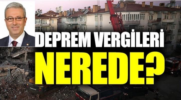 CHP Deprem Vergisinin Kaldırılması İçin Kanun Teklifi Verdi.