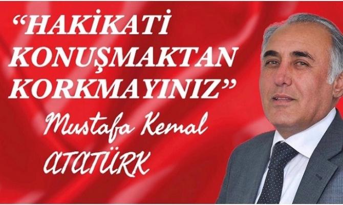 """CHP İl Başkan Adayı Alptekin Eser """"Geri Adım Atmayacağım"""""""