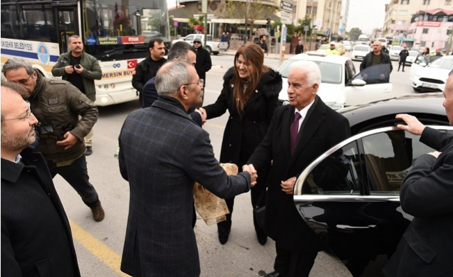 Kuzey Kıbrıs Türk Cumhuriyeti 3. Cumhurbaşkanı Tarsus'u Ziyaret Etti