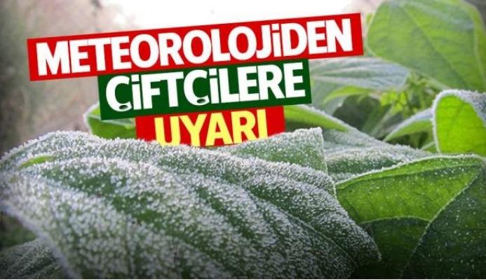Mersin'de Çiftçilere Zirai Don Uyarısı Geldi