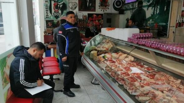 Mut'da Kasaplara 'Zoonoz' Denetimi