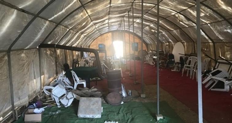 Silifke'de Kumar Çadırına, Jandarma Operasyon Yaptı