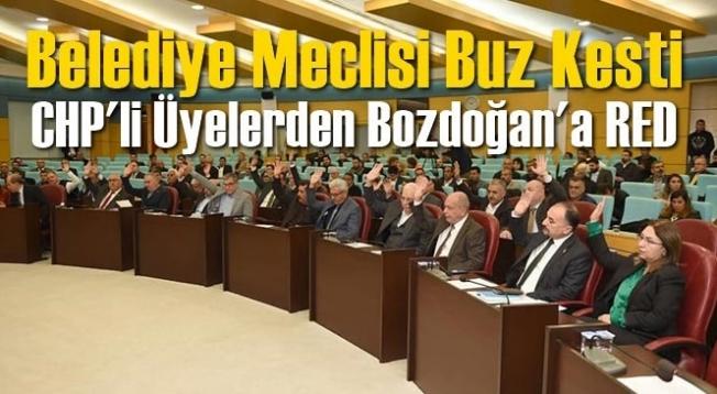 Tarsus Belediye Başkanı Bozdoğan'a CHP'li Meclis Üyelerinden Red