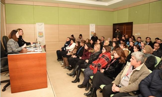 Tarsus Belediyesi Çalışanlarını Coronavirüs'ü Hakkında Bilgilendirdi.