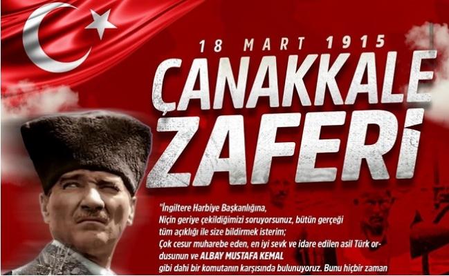 Başkan Özyiğit, Çanakkale Hürriyetin İlk Adımıydı