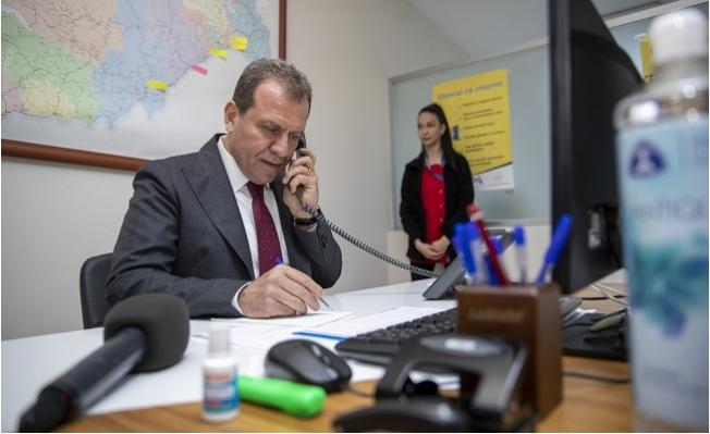 Başkan Seçer, Kriz Merkezinde Vatandaşı Dinledi
