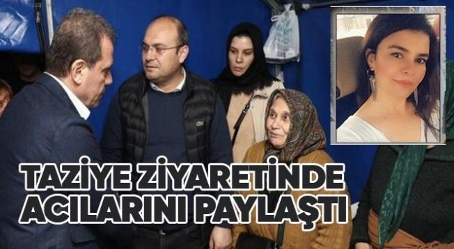 Başkan Vahap Seçer'den, Yasemin Özel'in Ailesine Taziye Ziyareti