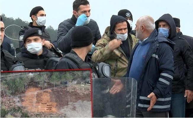"""""""Korona Virüs Mezarlığı"""" Vatandaşı İsyan Ettirdi"""