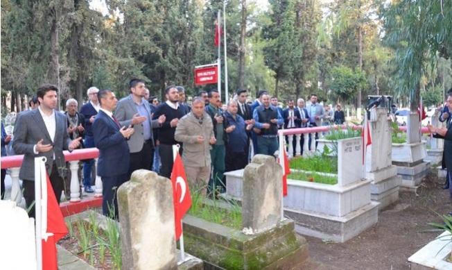 Şehitler, Tarsus'ta Dualarla Anıldı