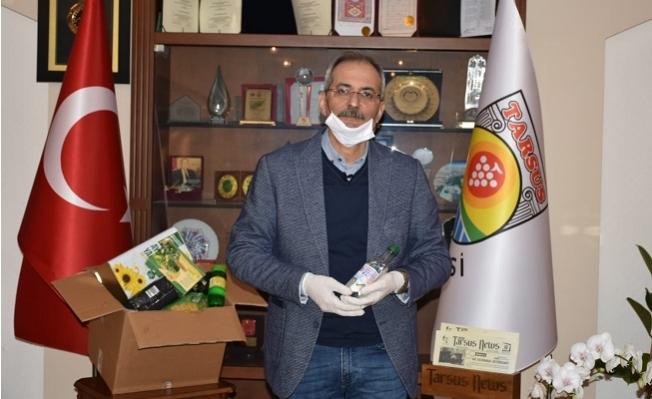 Tarsus'da 65 Yaş Üstü Vatandaşa 30 Bin Gıda Kolisi Dağıtılacak