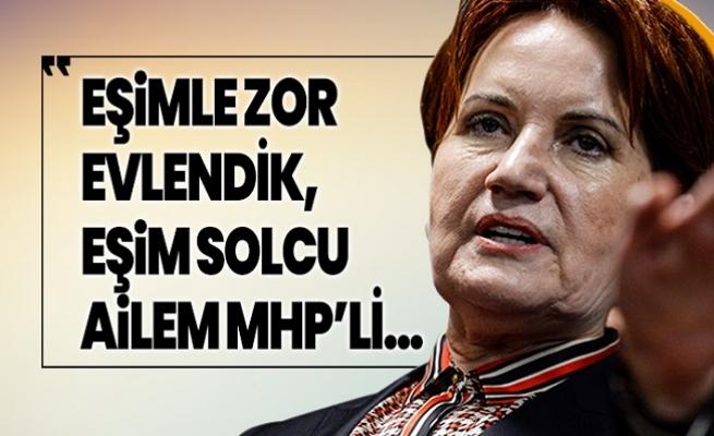 """Meral Akşener; """"Eşim Solcuydu, Zor Evlendik"""""""