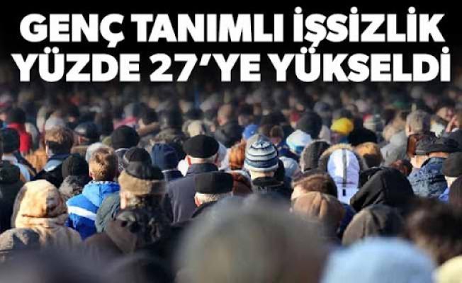Türkiye'de Genç İşsizlik Yüzde 27'ye Yükseldi
