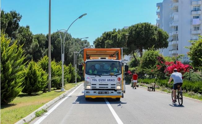 Büyükşehir'den 8 Kilometrelik Bisiklet Yolu