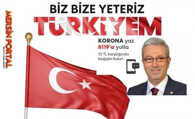 """CHP Mersin Milletvekili  """"Biz Bize Yeteriz"""" Kampanya Paralarının Akıbetini Sordu"""