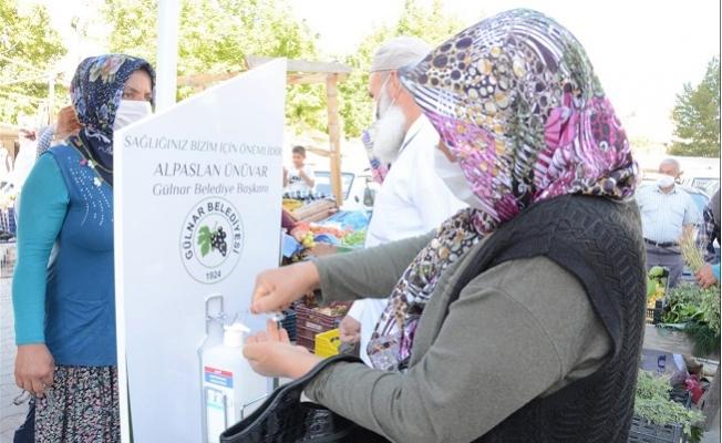 Gülnar Belediyesi Halk Sağlığı İçin Çalışmalarını Aralıksız Sürdürüyor