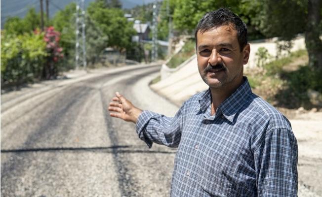 Hacgediği–Kayrakkeşli'nin 4,4 Kilometrelik Yol Sorunu Çözüldü