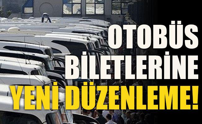 Otobüs Biletlerine Yeni Düzenleme