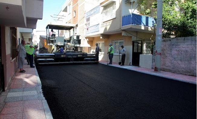Siteler Mahallesinin 11 Sokağı Baştan Sona Yenilendi