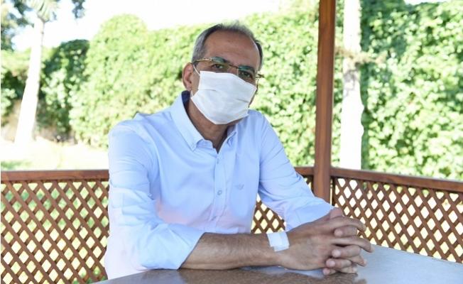 """Tarsus Belediye Başkanı Haluk Bozdoğan """"Koronavirüsü Yendim"""""""