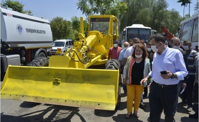 Yenişehir Belediyesi Hurda Araçları Hizmete Kazandırıyor