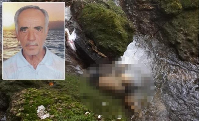 55 Gündür Kayıptı, Şelalede Cesedi Bulundu