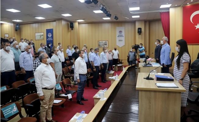 Akdeniz Belediyesi Temmuz Ayı Meclis Toplantısı Yapıldı
