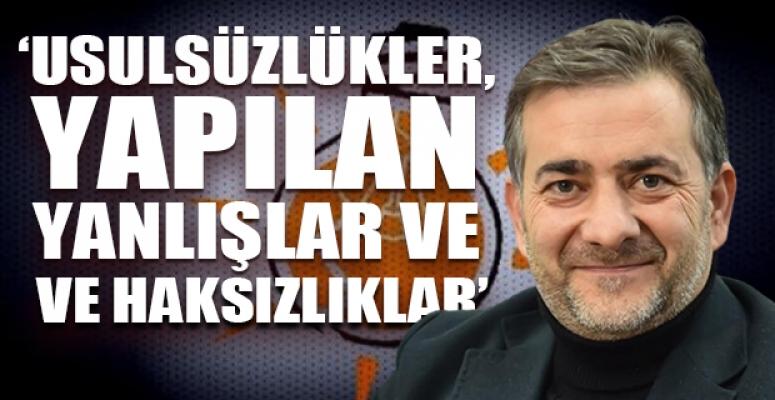AKP'li İsim Zehir Zemberek Sözler ile Partisinden İstifa Etti