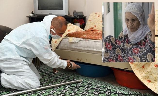 Büyükşehir, Tek Göz Odada Yaşam Mücadelesi Veren Yaşlı Kadına Yoldaş Oluyor