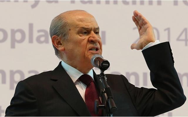 """Devlet Bahçeli: """"Atatürk'e Hakaret Edecek Biri Anasından Doğmamıştır"""""""