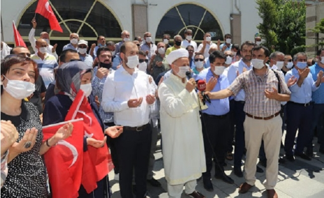 Mersin'de, İbadete Açılan Ayasofya İçin Şükür Duası Edildi