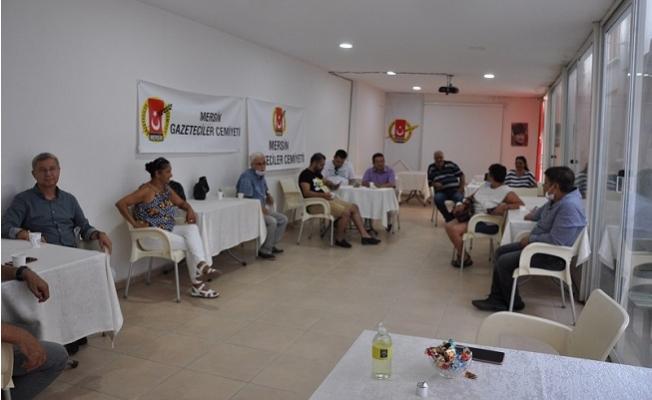 MGC Yönetimi, Gazetecilerle Bayramlaştı