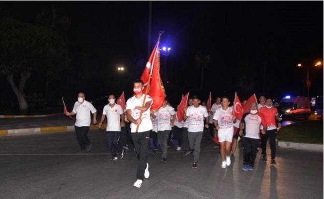 Milli sporcular '15 Temmuz' Şehitleri İçin Koştu