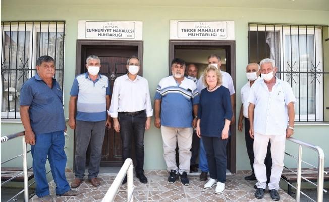 Tarsus Belediyesinden 179 Mahalleye Hizmet Eşitliği