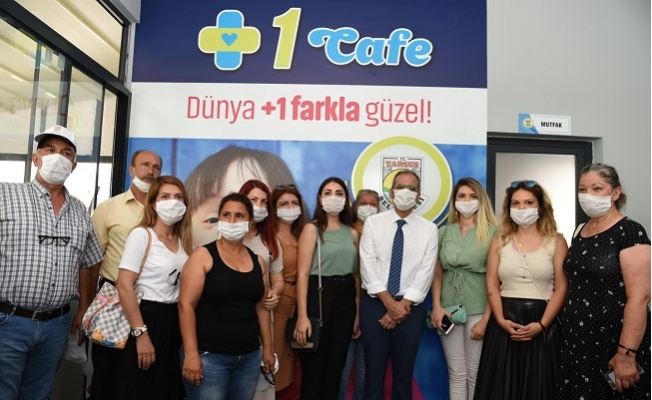 Tarsus'da Down Senderomlu Bireyler İçin Kafe Açıldı.