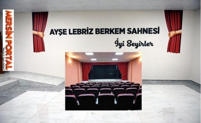 Tarsus Şehir Tiyatrosu, İlk Sahnesine Kavuştu.