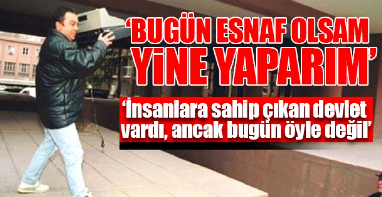 2001 Krizinde Ecevit'e Kasa Fırlatan Esnaf şimdi Ne Yapıyor?