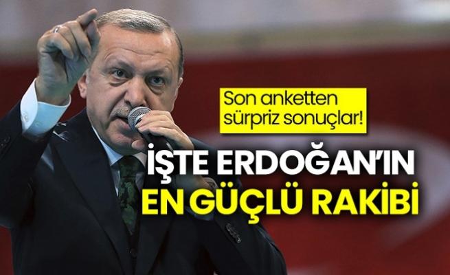 Erdoğan'ın En Güçlü Rakibi Kim ?