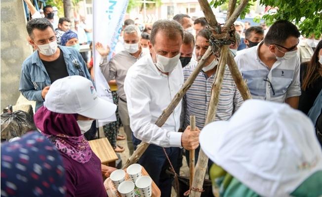 Başkan Seçer, Silifke'nin Kırsal Mahallelerini Gezdi.