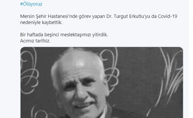Mersinli Doktor Turgut Erkutlu COVID-19 Nedeniyle Hayatını Kaybetti