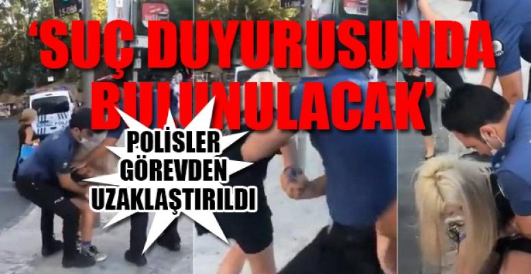 Polisten Bir Kadına Maskeyi 'Doğru' Takmadığı Gerekçesi İçin Yaka Paça Gözaltı