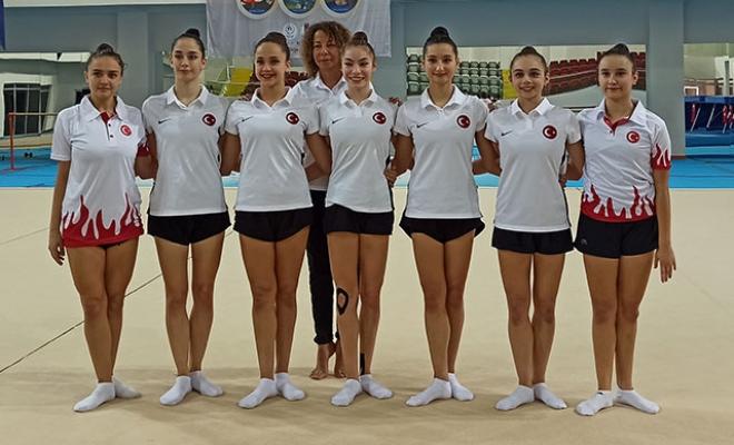 Ritmik Cimnastik Milli Takımı Mersin'de Kampa Girdi