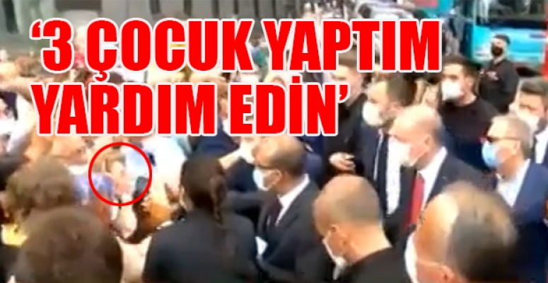Rizeli Kadın Erdoğan'a Böyle Seslendi