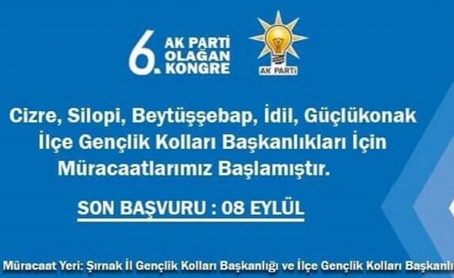 AKP Sosyal Medya İlanıyla Başkan Arıyor!