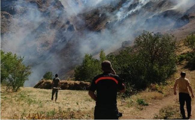 Anamur'da Çıkan Orman Yangını Söndürüldü